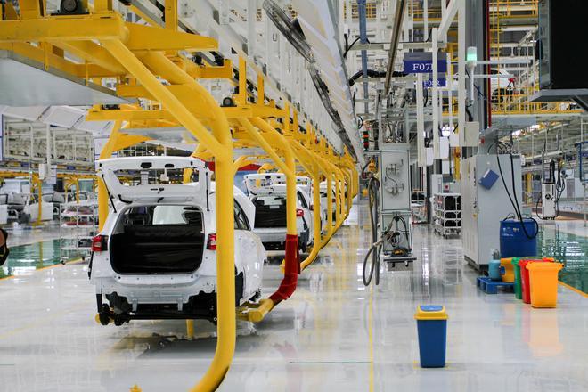 踏实的新创造车企业有几家 探访合众汽车桐乡制造基地