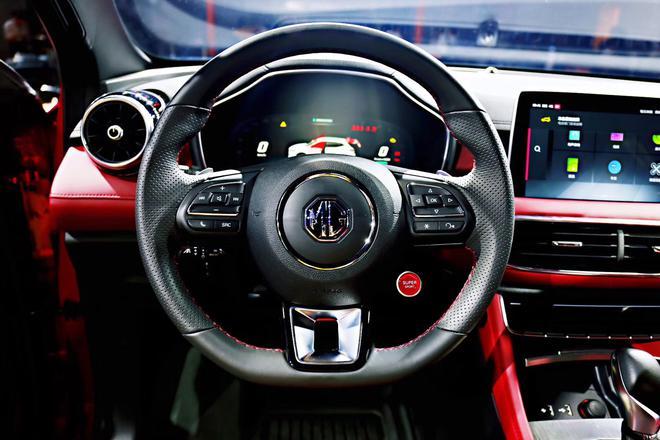 名爵全新SUV HS亮相 预计9月上市
