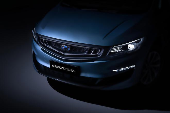 吉利全新MPV VF11预告图 定位中高端MPV车型