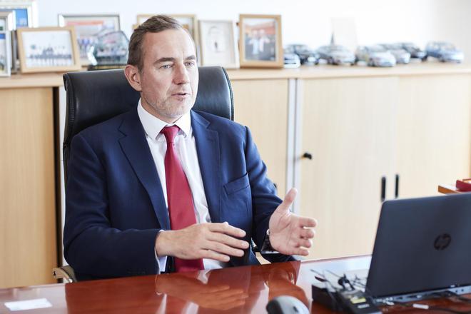一汽-大众销售有限责任公司执行副总经理杨慕添(Martin Jahn)