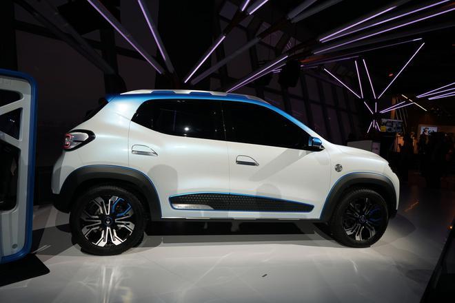 雷诺电动概念车K-ZE亮相 主动迎合中国市场