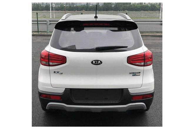 起亚KX3 EV申报图(图片来源网络)