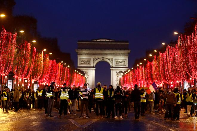 受抗议活动影响 法国12月新车销量下跌15%