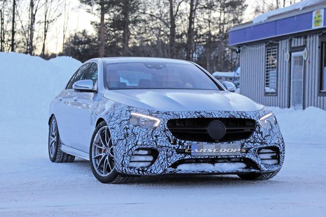 新款AMG E63谍照首曝 搭载4.0T V8发动机