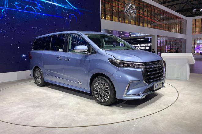 2019上海车展:上汽大通G20上市17.98万起