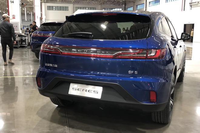 2019上海车展:金康SERES SF5公布预售价