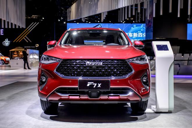 搭载L2级自动驾驶 哈弗F7x将于4月27日上市