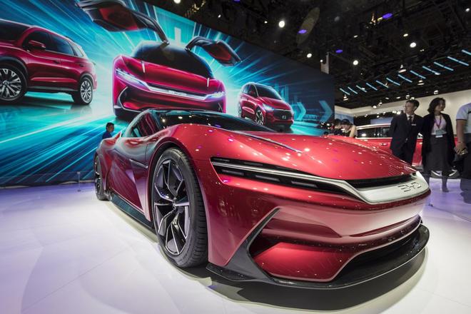 外媒:未来20年中国将主导电动汽车市场