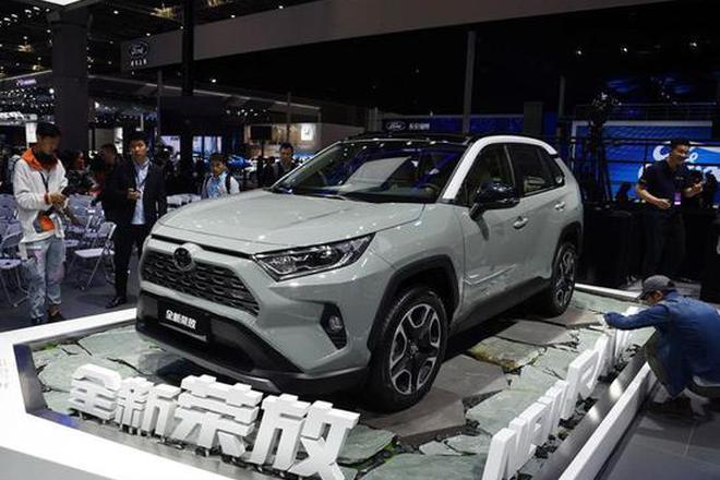 一汽丰田全新一代RAV4荣放将于10月上市