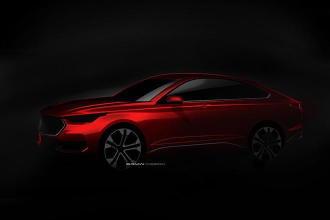 宝骏全新车型设计图曝光 轿跑氛围浓厚