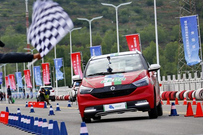 第六届环青海湖(国际)电动汽车挑战赛性能评测赛环节