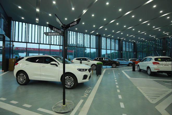 品牌车型展示区