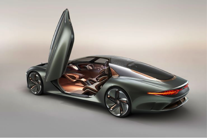 宾利100周年纪念日推出纯电动概念车EXP 100 GT