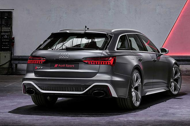 奥迪新款RS 6 Avant官图发布 法兰克福车展首发