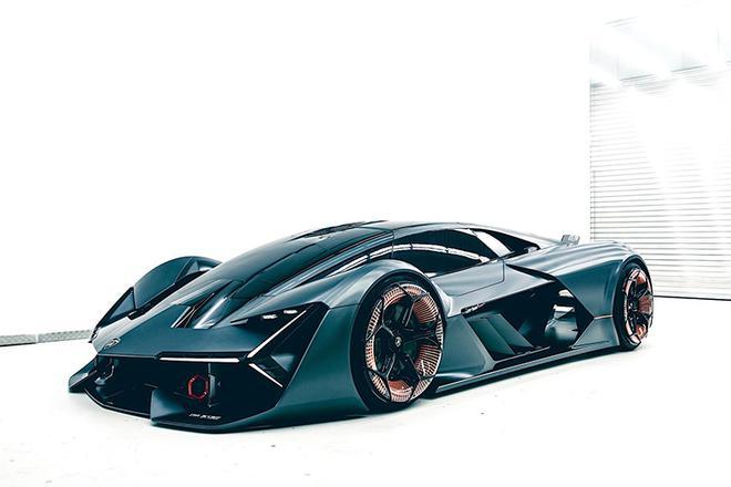 兰博基尼Terzo Millennio概念车