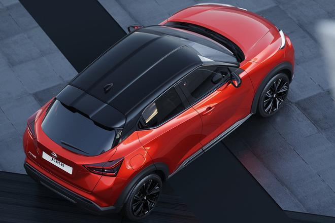 法兰克福车展亮相 日产全新一代JUKE官图发布