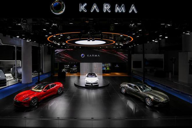 2019成都车展:Karma汽车两款大发快3破解_快3平台_输钱-亮相