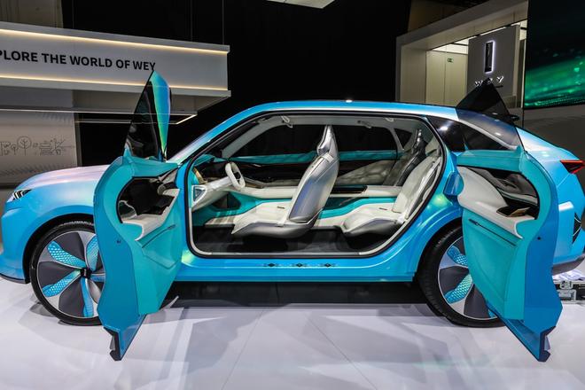 两年后全面进入欧盟市场 WEY品牌亮相法兰克福车展
