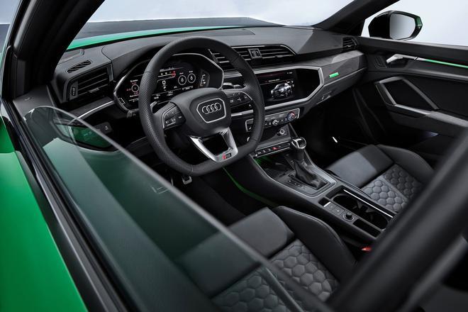 高性能溜背轿跑SUV 新奥迪RS Q3官图发布