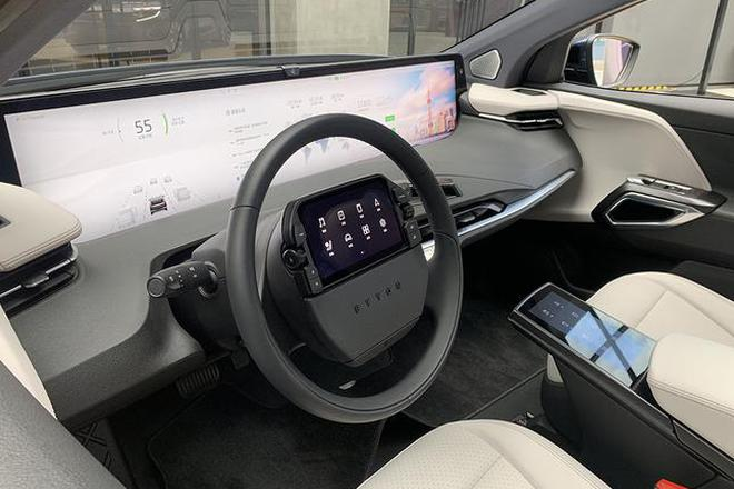 2019广州车展 拜腾首款量产车M-Byte正式亮相