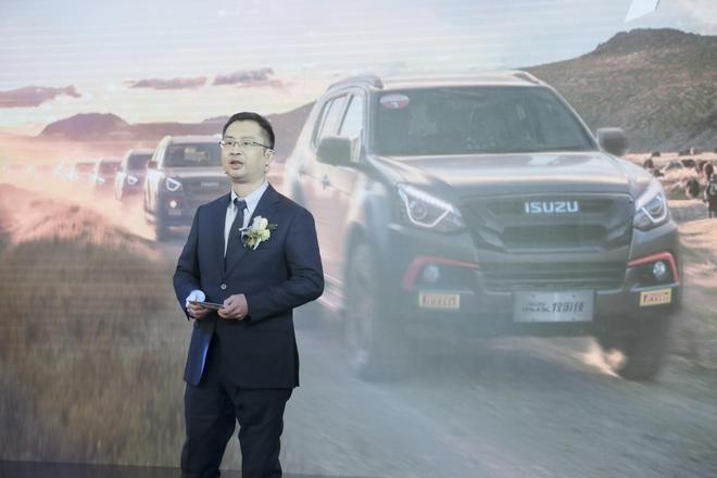 江西五十铃汽车销售服务有限公司总经理 陈武