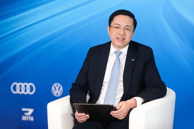 一汽-大众奥迪销售事业部执行副总经理 孙惠斌