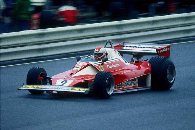 尼基·劳达驾驶的法拉利312T赛车