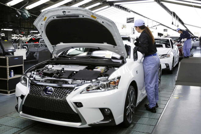 丰田从4月3日起关闭日本五家装配厂 削减3.6万台产量