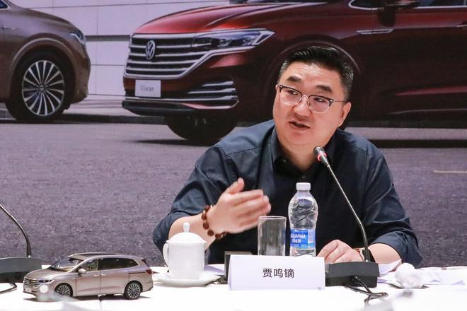 上汽大众汽车有限公司销售与市场执行副总经理 上海上汽大众汽车销售有限公司 总经理 贾鸣镝 博士