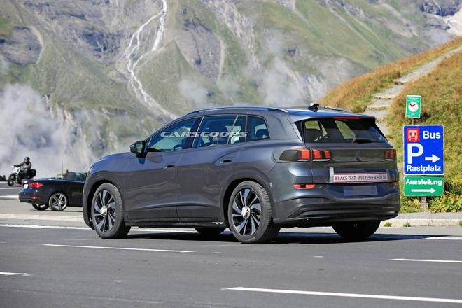 大众ID.6采用7座SUV配置,2021年发布,竞争对手锁定特斯拉Model X