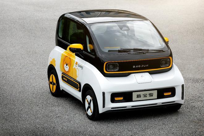 2020北京车展:两家公司共同打造 新宝骏E300小Biu正式发布