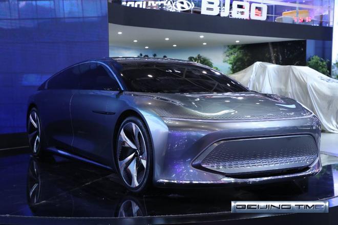 2020北京车展:纯电续航83km BEIJING-X7 PHEV亮相