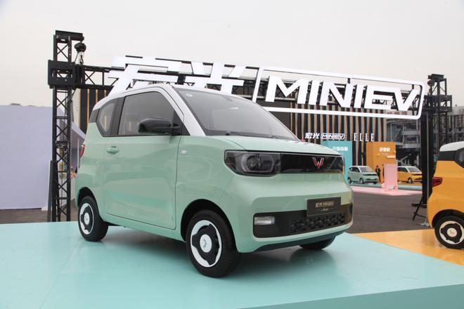 售价3.76-4.36万元 五菱宏光MINIEV马卡龙正式上市