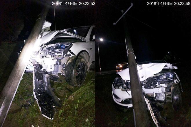 事故现场照片