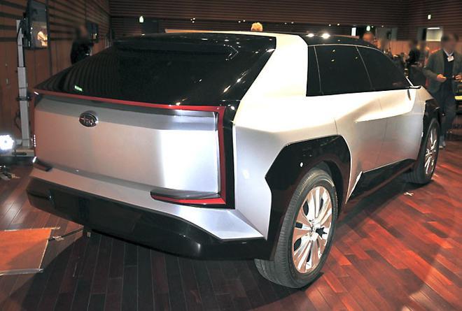 首款纯电动车2022年发布 斯巴鲁新车3年规划及效果图曝光
