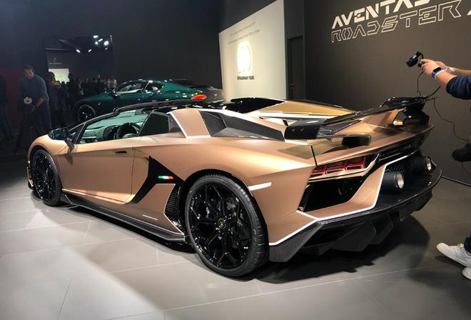 2019日内瓦车展 Aventador SVJ敞篷版亮相