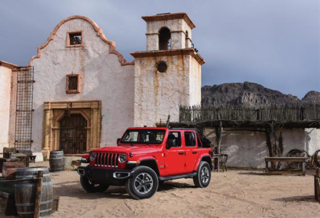 全新一代Jeep牧马人配置曝光 或于7月25日上市