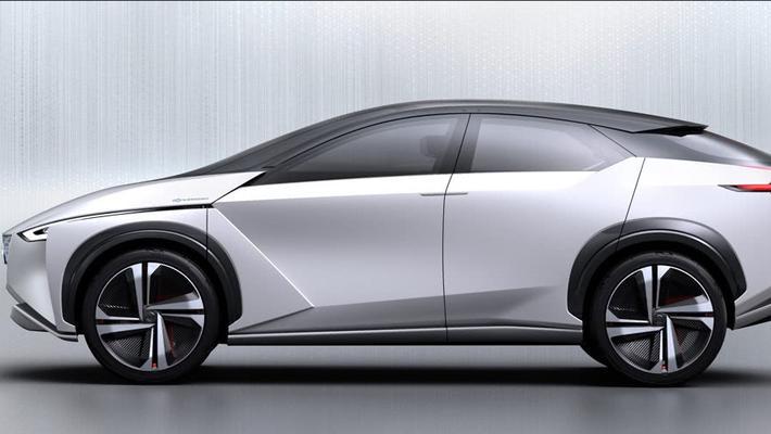 日产概念汽车IMx再曝光:续航600公里