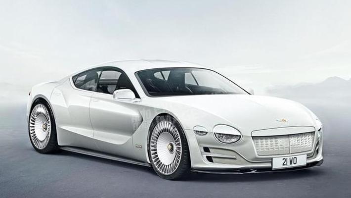 宾利最新电动旗舰车型假想图 倾向于四门轿跑