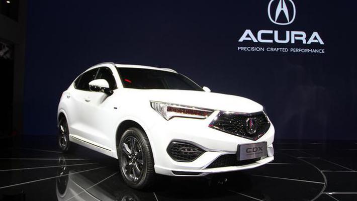 2018北京车展:讴歌CDX混动版上市