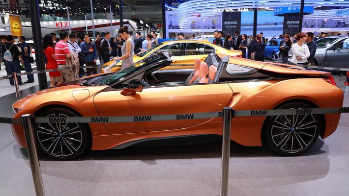 车展实拍|宝马i8新能源 目测会成爆款