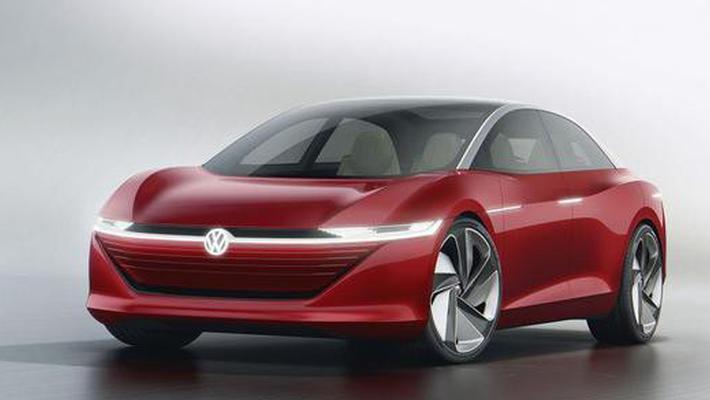2022年大众的全电动汽车Vizzion续航里程达400英里