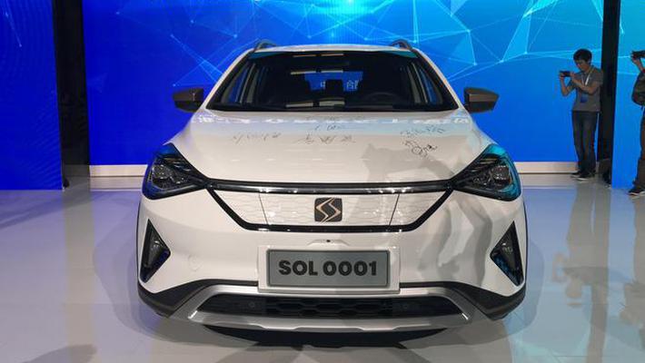 江淮大众首款车型 思皓E20X正式下线