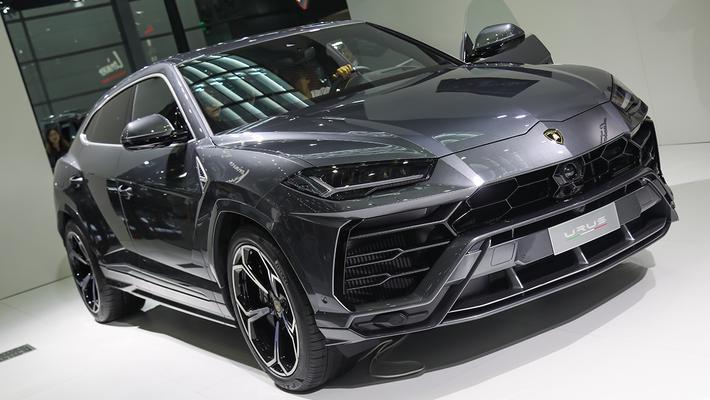 兰博基尼Urus亮相车展 售价313万元