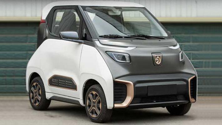 宝骏新电动车 尺寸比smart还小/不到5万就能买