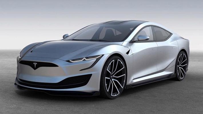 特斯拉新款Model S假想图 外观变化较大