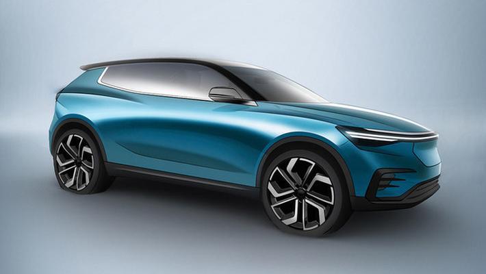 ENOVATE首款車型預告圖 廣州車展發布