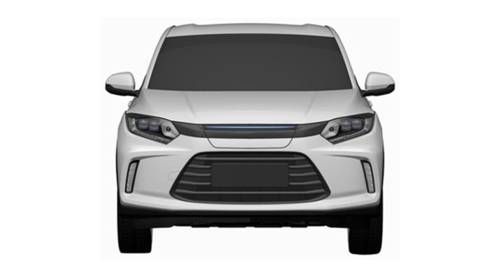 理念汽车未来设计方向 理念电动车专利图
