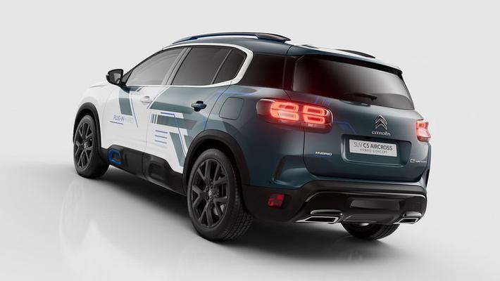 雪铁龙C5 Aircross插电式混动概念车官图发布