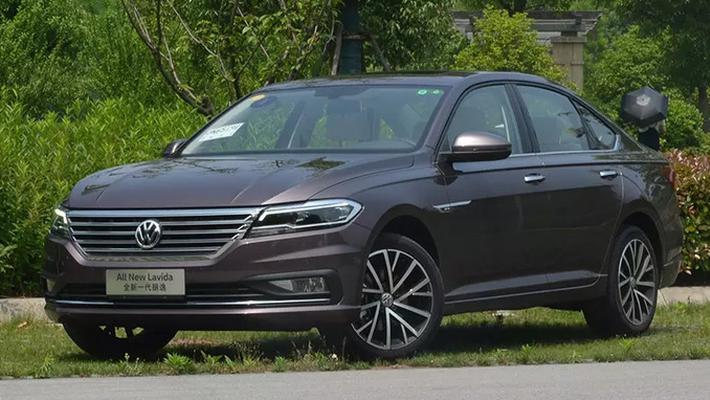 上汽大众纯电动朗逸实拍 动力超轩逸EV-明年开卖